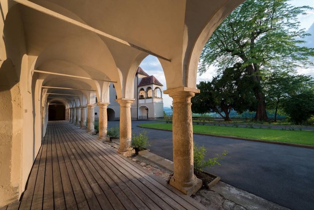 Oberschloss Arkaden SchlossSeggau Copyright Stefan Kristoferitsch